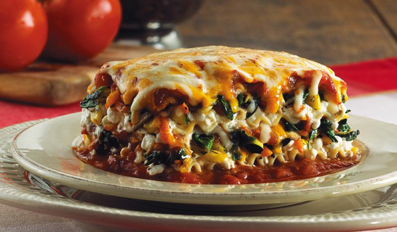 Vegetarian Lasagna Recipe — Dishmaps